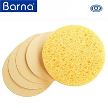 wholesale toxin free compressed cellulose sponge for face/facial bath shower