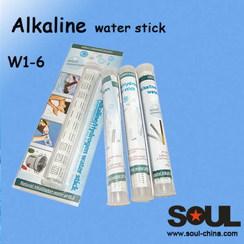 high quality plastic reusable traveling alkaline water stick w1-6