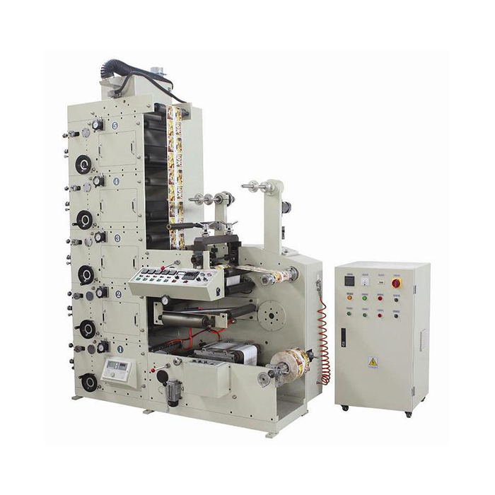 ME320 Roll To Roll Taffeta Sticker Digital Care Flexo Label Printing Machine