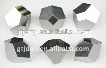 Cemented carbide anvil with good hardness