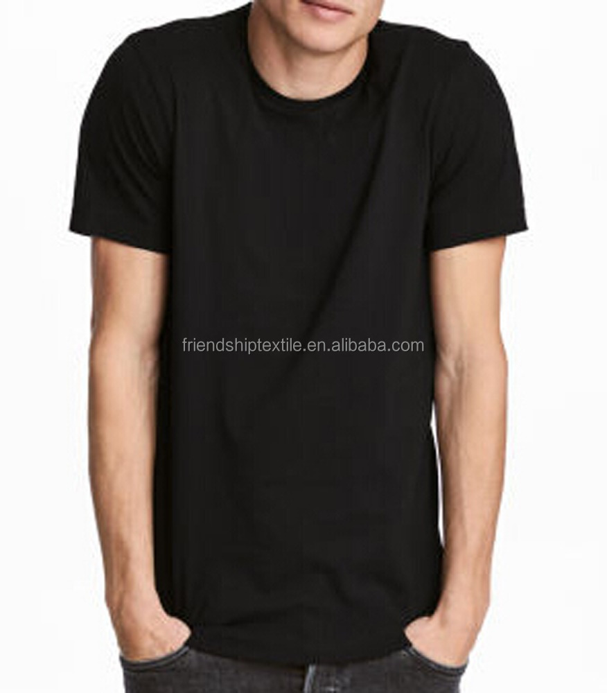 High Quality 100 Percent Combed Cotton 200Grams Blank T shirt With America Size