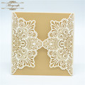 Bengali doc wedding laser cut paper baptism invitation card