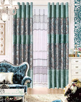100% polyester luxury hotel curtains for living room modern