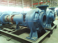 Non-clog open impeller sugar&caned slurry centrifugal water pump series KWP for food processing