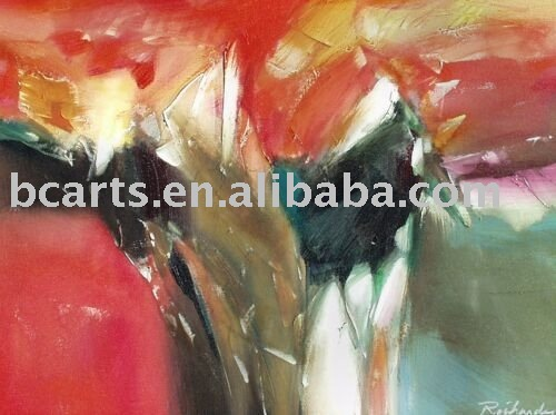 abstract paintings with description of painting