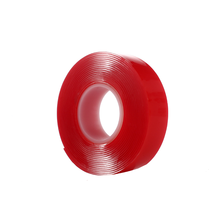 Double Sided Red Waterproof Solvent Resistant VHB Adhesive Tape