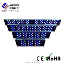 72W - 250W All aluminum Cichlid fish led reef aquarium lighting for aquarium fishing shop