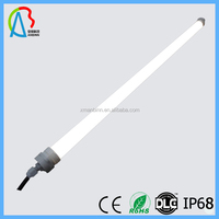 1.2m 4ft 20w 1600lm IP68 waterproof t8 led tube with CE, ROHS certificate janpese led tube t8