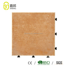 Chinese Click Clack brand names of matte finish glazed vitrified ceramic porcelian tile flooring in low price for balcony