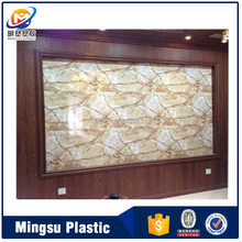 New Material for interior decoration PVC wall panel board