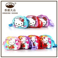 2015 new arrival famous welcome hello kitty cartoon kids school cartoon bag