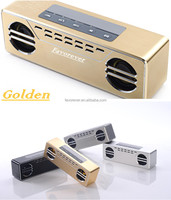 Favorever Aluminum external 3D surround sound mobile phone speaker for ipad iphone sumsung