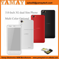 Smartphone with MTK6582M Quad core 1.3 GHz 5-inch QHD Ultra slim 1800mAh battery