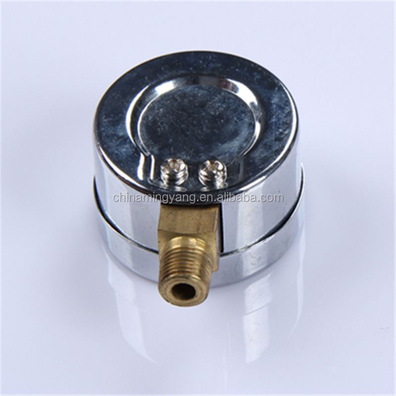 High Strength Normal Pressure Gauge Durable LightWeight Easy To Read Clear 40mm manometer bourdon tube