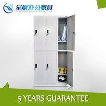 6compartment knock down modular electrical cabinet school locker