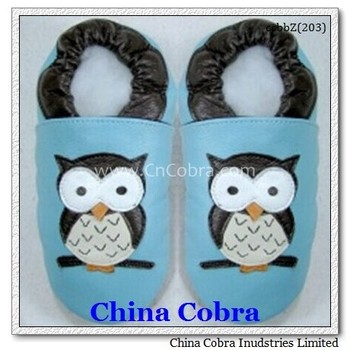 2015 hot sale leather soft baby shoes baby moccasins CHINA COBRA