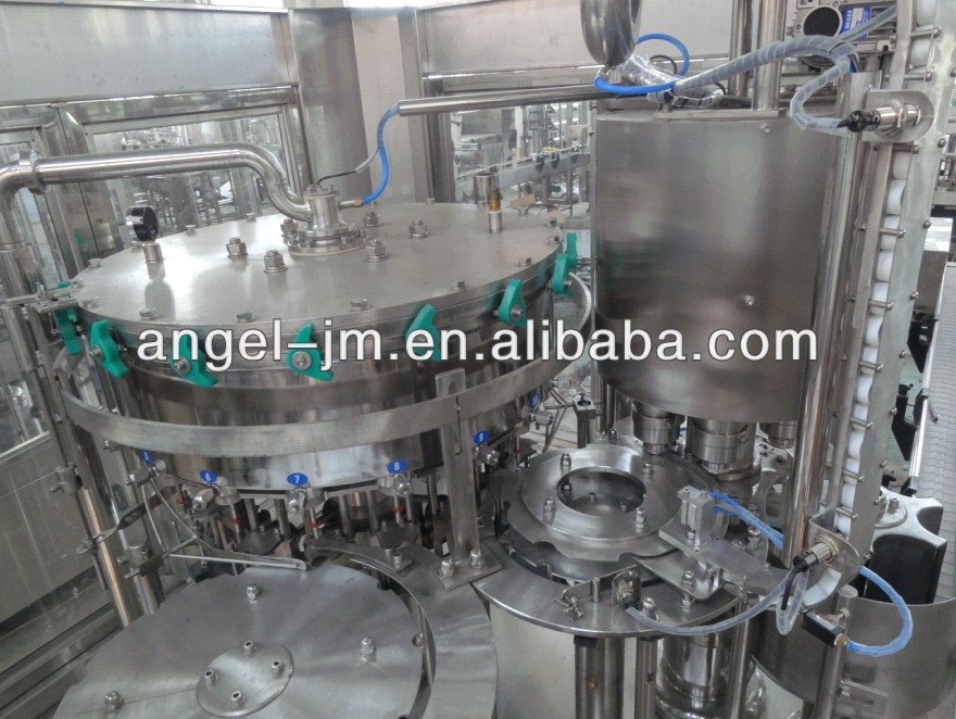 Cola, iced tea and gas mineral water 3 in 1 filling plant/Soft drinks filling machine