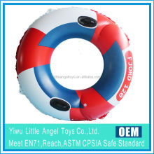 Double Chambers Hot Design Adult PVC Inflatable swimming ring