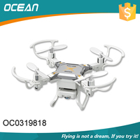 most popular easy remote control plastic drone foldable with flying function