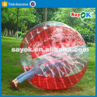 Cheap bumper ball inflatable ball half color tpu bubble soccer bubble ball bubble football equipment