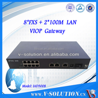 Low price best quality 8 FXS Gateway SIP VoIP ATA Adaptor cisco products