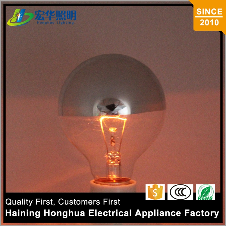 E27 40W Edison Lamp 75W Transparent Bulb G80 Incandescent Lamps