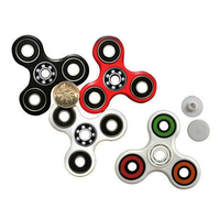 colorful fidget hand spinner plastic CKF style fidget spinner toys with ceramic bearing