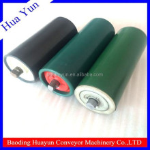 baoding kalmar spare parts plastic tube roller for flexible conveyor