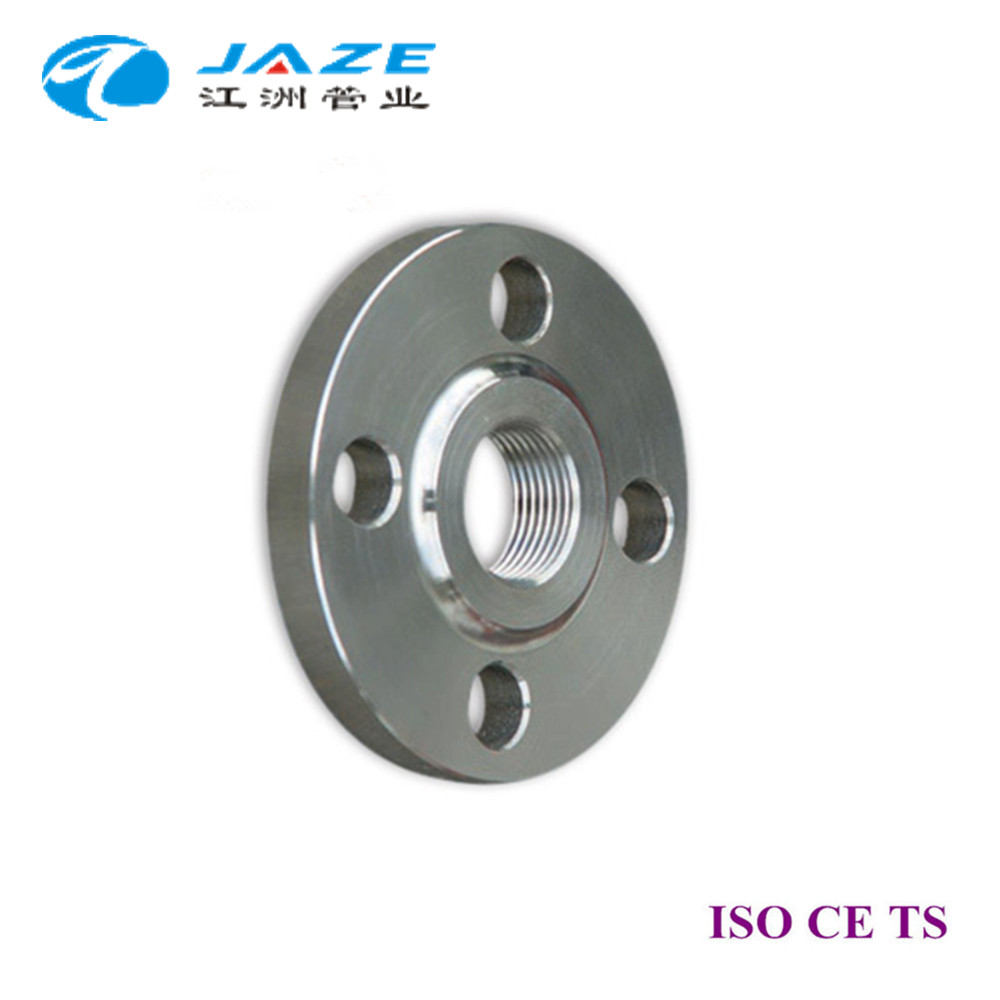 Grooved fitting RF threaded flange