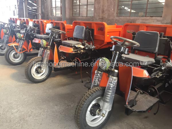 new construction dumper cargo tricycle