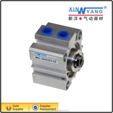 Double /single 12-100 mm bore size acting compact series Inch Rectangle Cylinders