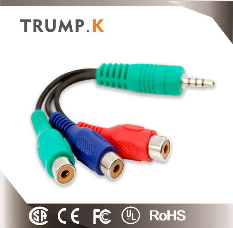 RGB to 3 RCA COMPONENT TV/HDTV CABLE from china