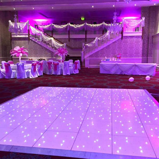 Wedding Party Event Starlit Dance Floor for romantic style stage