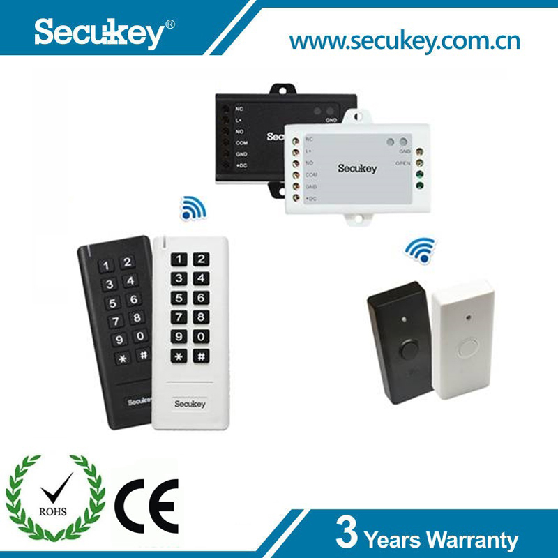 Secukey 2.4G Wireless Standalone Keypad Access Controller