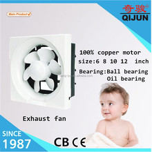 6 8 10 12 inch wall mounted kitchen exhaust fan price in full plastic/Semi Metal