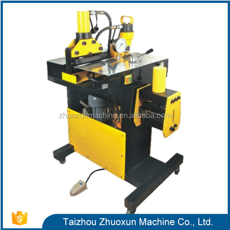 Normal Dhy-150 Non-Cnc Cnc Copper Rod Bending Brass Busbar Punching Machine