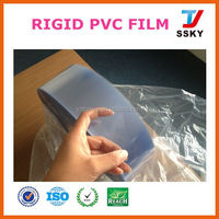producer clear PVC sheet plastic factory