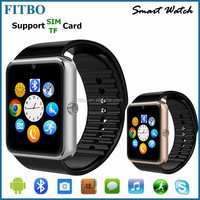 Top Stylish Sync FM TF dual sim watch phone waterproof oem for iphone SE