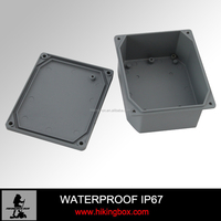 IP67 Die Cast Aluminum Waterproof PCB Shell / Box / Enclosure 174 x 80 x 57 mm