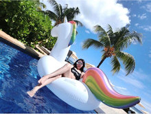 2017 Trending Products inflatable unicorn Beach Inflatable Float floating swimming pool For Adult and kids