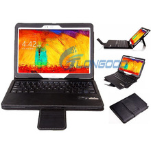 2014 Vision Removable Bluetooth Keyboard Leather Case For Samsung Galaxy Note 10.1 / P600