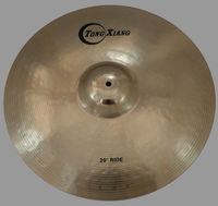 high grade cymbals b20 cymbals TD series ride cymbal polishing cymbal for drum kits