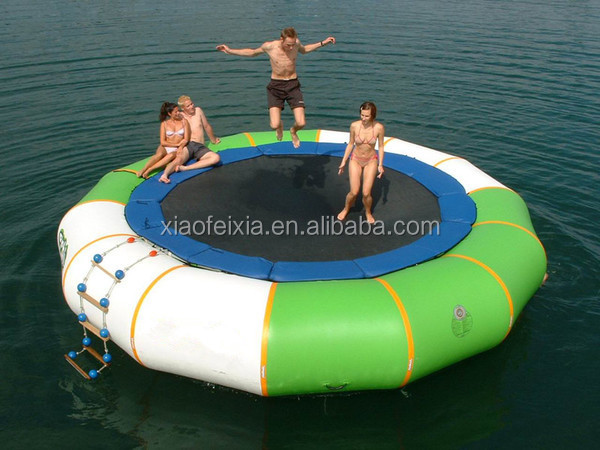 Mobile Cheap Sport Game High Quality Inflatable Water Trampoline for Children and Adults