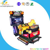 Hot sale 55 inch 4D Hot Pursuit simulator driving 3d 4d car racing games machine