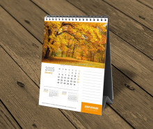 ne quality plast desk calendar OEM welcomed