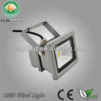 Ce&rohs allowed single color ip65 aluminium 10W led flood light with epistar/bridgelux