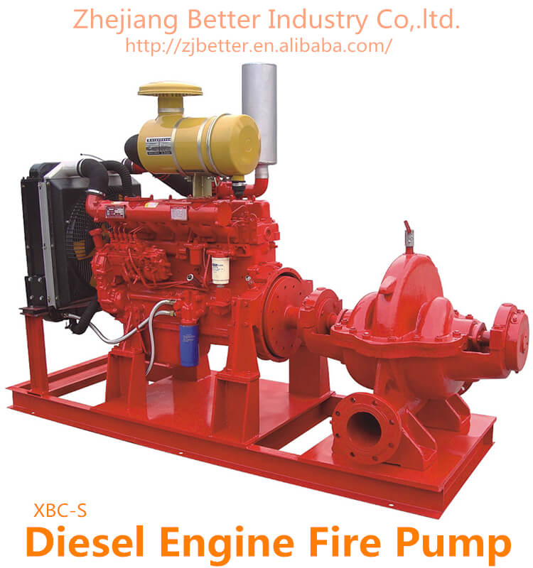 Thailand Price High capacity Diesel Engine Fire Pump For Sale