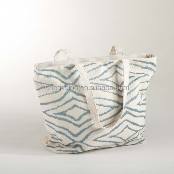 Hot sale fashion design tote canvas bags