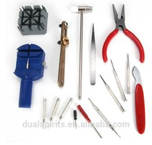 Watchmaker REPAIR TOOL KIT 16pc WATCH Links & Spring Removers Case Opener