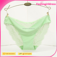 Sexy Young Girl Light Green Fast shipping Hot Sale Cheap Wholesale Sex Women Panty